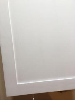 Smooth White Oak Cabinet Door